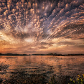 Awesome Clouds at Sunset by Michael Buffington - Landscapes Cloud Formations (  )