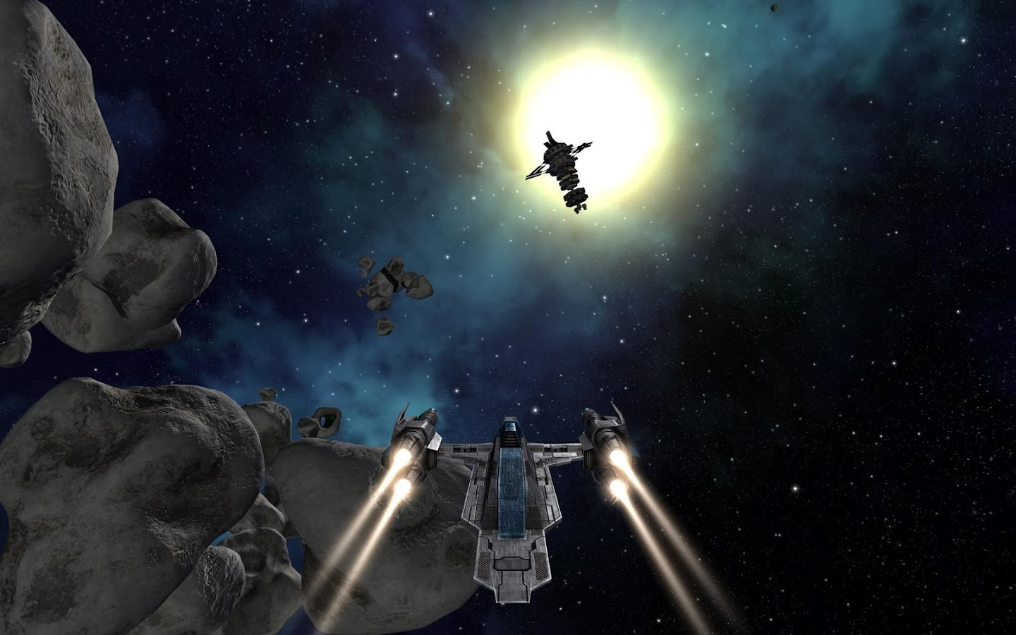 Vendetta Online (3D Space MMO) - screenshot