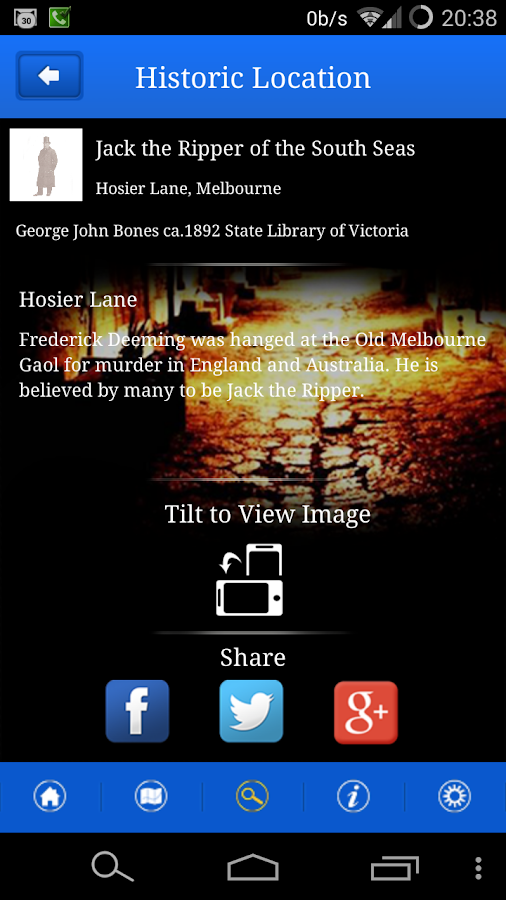Lantern Ghost Tours AR - screenshot