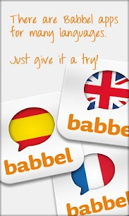 Learn Portuguese with Babbel - screenshot thumbnail