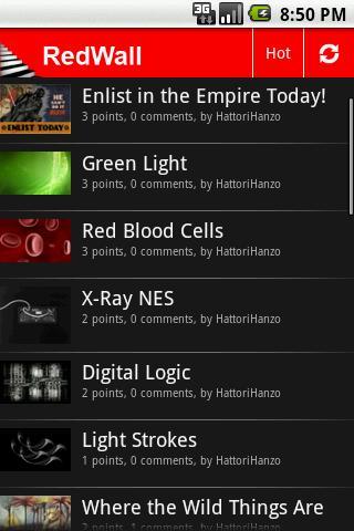 RedWall Pro - screenshot