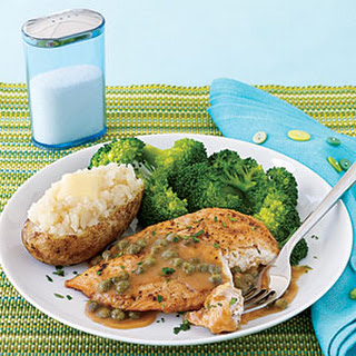 Chicken with Lemon and Capers.