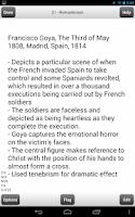 Screenshot of Art History 101&102 Cards Lite