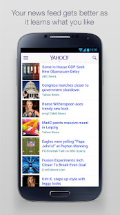 Yahoo - screenshot thumbnail
