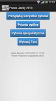 Screenshot of Prawo Jazdy B 2013 BETA
