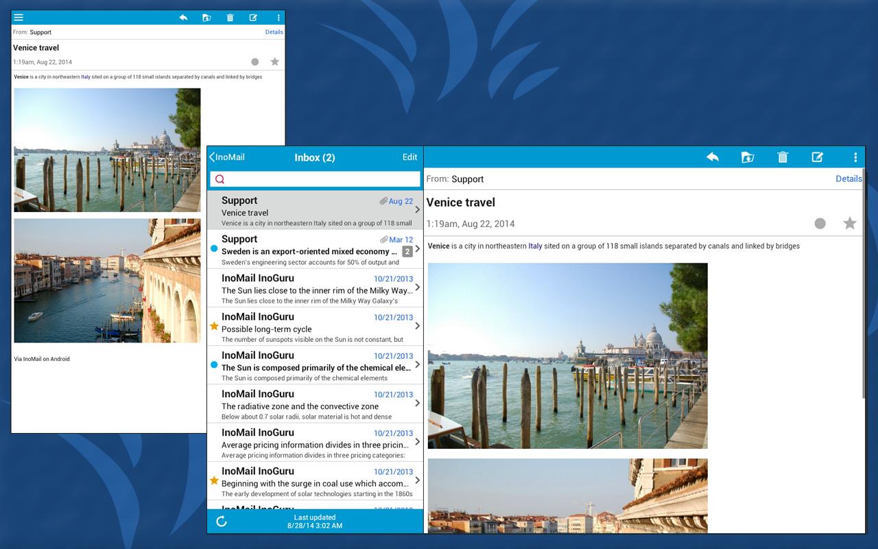 InoMail Free - Email - screenshot