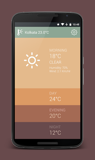 Degrees - The Weather App