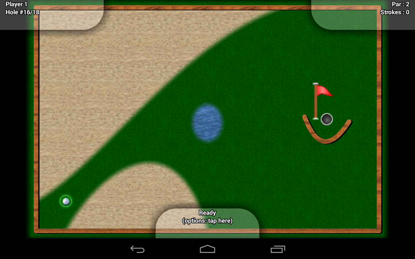 Mini Golf'Oid Free- screenshot