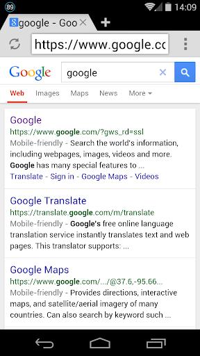 Internet Web Browser