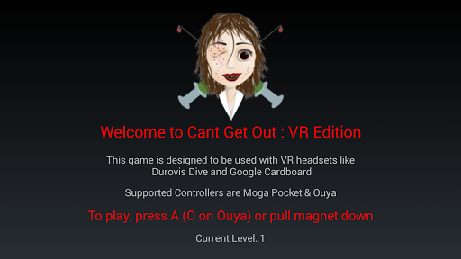Can't Get Out VR Edition