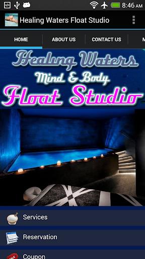Healing Waters Float Studio