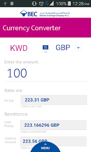 BEC Currency Converter- screenshot thumbnail