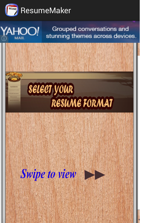 auto resume generator android apps on google play