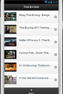 Thai Boxing Videos - screenshot thumbnail