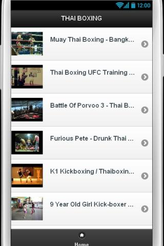 Thai Boxing Videos - screenshot