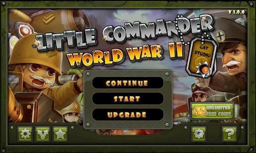 Little Commander - WWII TD Screenshot 7