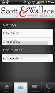 Scott & Wallace - PI Attorneys- screenshot thumbnail