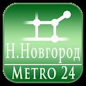 Nijniy Novgorod (Metro 24) logo