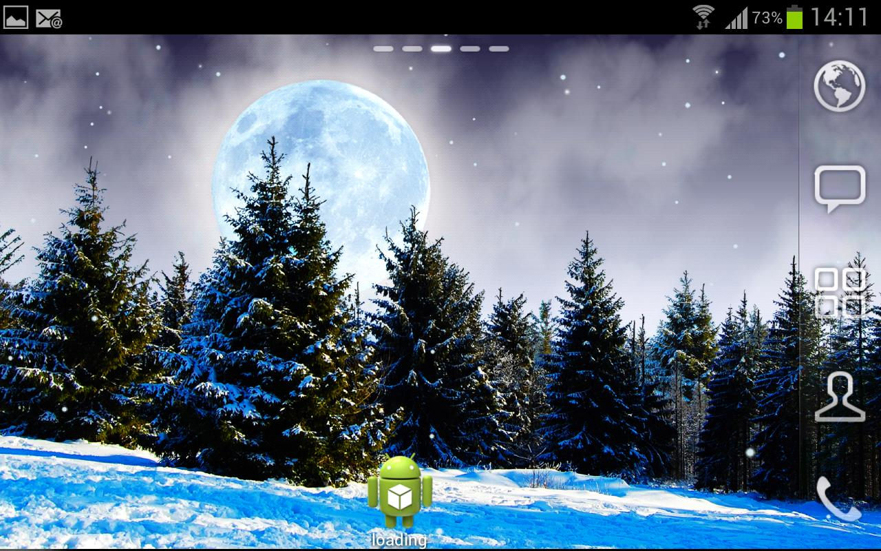 Winter Landscapes FREE - screenshot