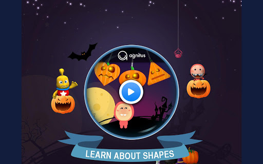 Preschool Pumpkin Shapes FREE