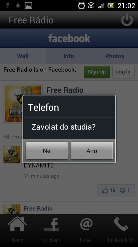 Free Rádio - screenshot