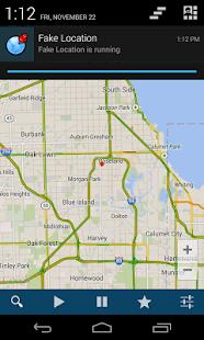 Fake gps - fake location - screenshot thumbnail