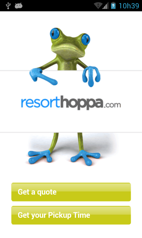 Resorthoppa - screenshot