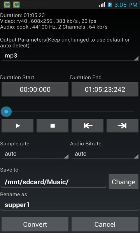 Media Converter- screenshot