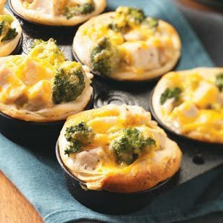 Broccoli-Chicken Cups