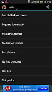 玩娛樂App Tonos de Chespirito免費 APP試玩