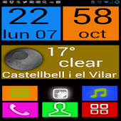 Big Buttons Launcher UCCW Skin