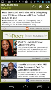 Mara Brock Akil: The Root 100 - screenshot thumbnail