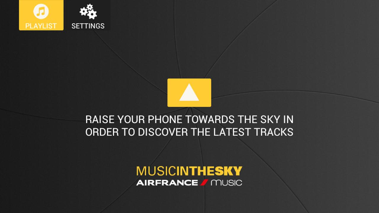 Air France Music- screenshot