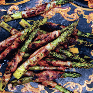 Grilled Pancetta-Wrapped Asparagus.