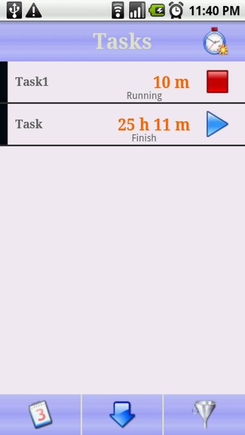 Time Tracker Lite - screenshot
