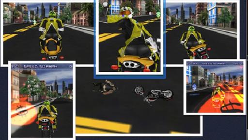 Night Moto Traffic Racer 3D