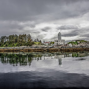 Five FIngers Lighthouse - Alaska by Perry Churchill - Landscapes Travel