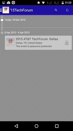 2015 TechForum – Sponsors