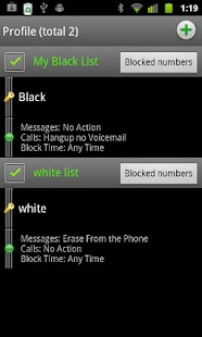 Extreme Call Blocker Invisible - screenshot thumbnail