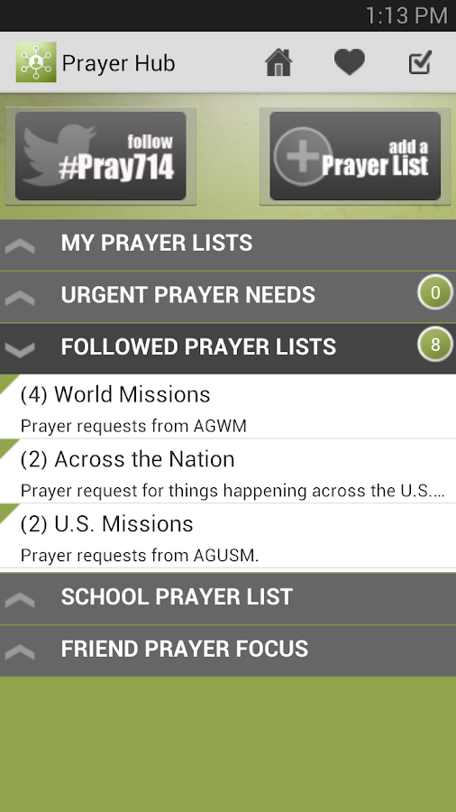 7:14 Prayer - screenshot