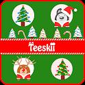 Teeskii Winter X-mas 카카오톡 테마 icon