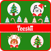 Teeskii Winter X-mas 카카오톡 테마