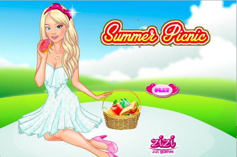 Summer Picnic Dress Up