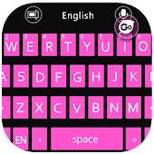 GO Keyboard W8 Pink Theme