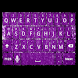 Purple Glitter Keyboard Skin