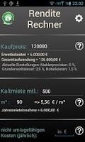 Screenshot of Yield Calculator