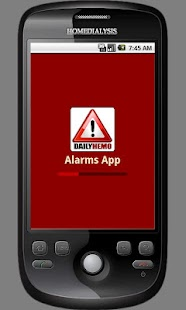 DailyHemo Alarms App - screenshot thumbnail