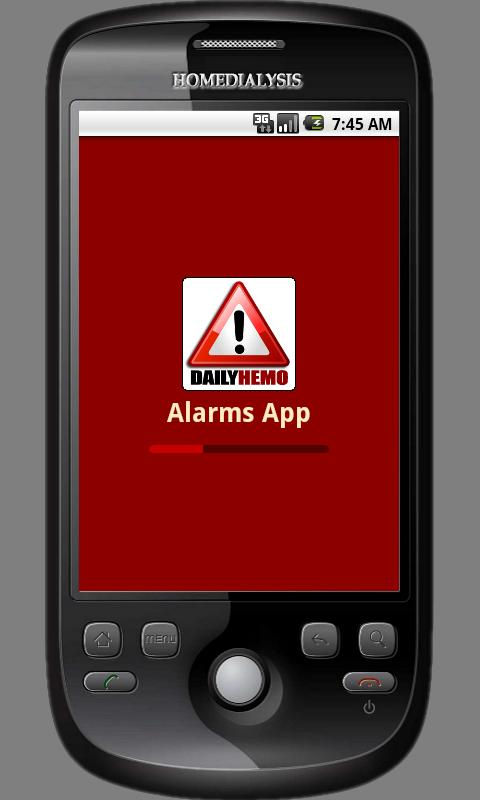 DailyHemo Alarms App - screenshot