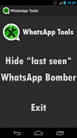 Screenshot of W-Tools | Hide Last Seen Mark