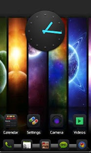 Blackened Theme Go Launcher EX - screenshot thumbnail